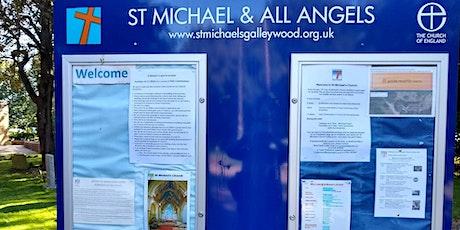 Churchyard tidy-up team and Church odd-job team tickets