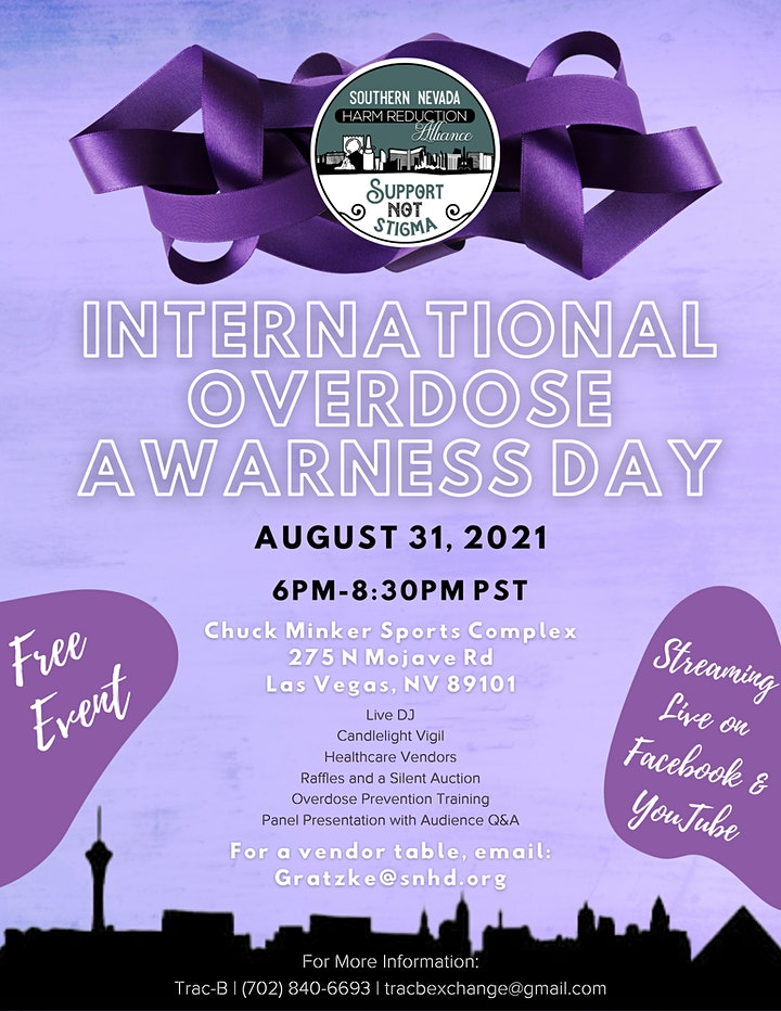 IOAD 2021 - International Overdose Awareness Day image