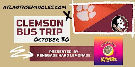 FSU/Clemson Game Bus Trip - Presented by Renegade Hard Lemonade tickets