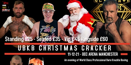 Ultimate Bare Knuckle Boxing Christmas Cracker tickets