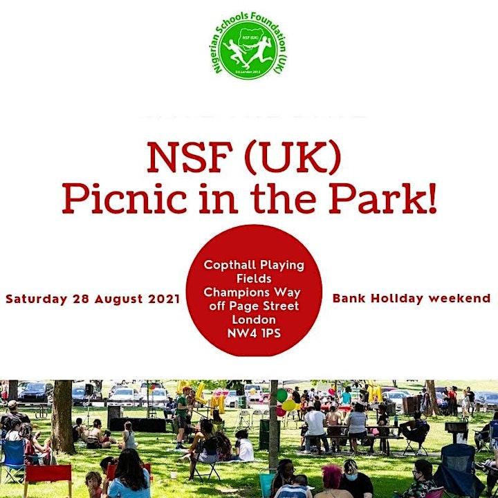 NSF(UK) Picnic in the Park 2021 image