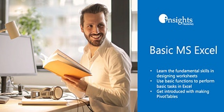 Basic MS Excel Training tickets