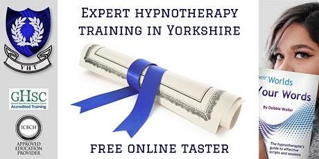 Hypnotherapy Training Taster course - free tickets