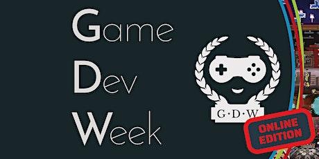 GameDevWeek 2021.2 Trier entradas