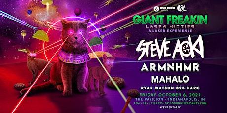 Giant Freaking Laser Kitties with Steve Aoki tickets