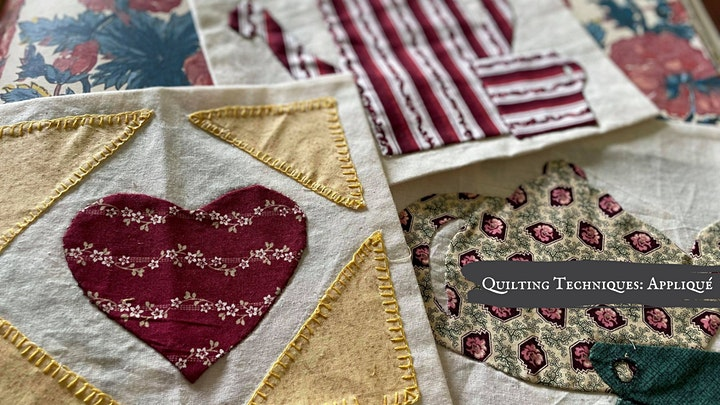 Heirloom Workshop Series: Quilting Techniques image