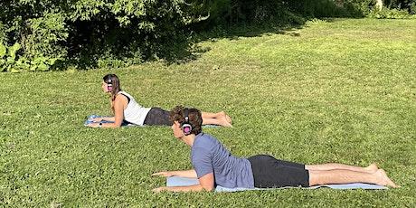 Silent Yin Yoga and Meditation at Sunnybrook Park tickets