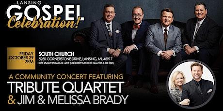 Tribute Quartet with Jim & Melissa Brady tickets