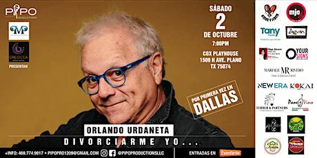 DIVORCIARME YO, OBRA DE ORLANDO URDANETA tickets