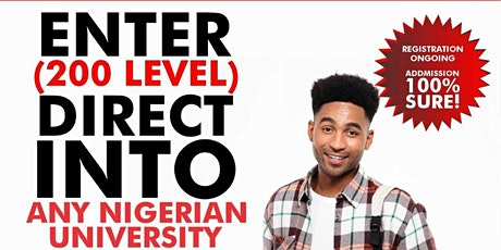 Tired of writing JAMB? You can Gain 200 Level Admission via JUPEB easily! tickets