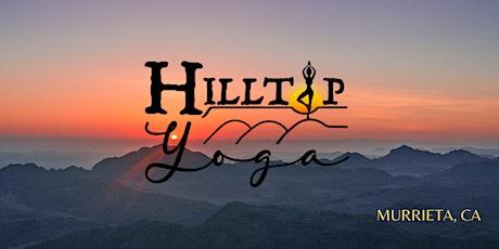 HILLTOP Hatha Yoga & Yoga Nidra tickets