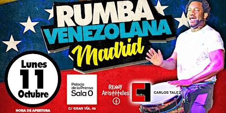 RUMBA VENEZOLANA EN MADRID  CON CARLOS TALEZ entradas