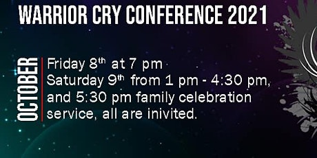 Warrior Cry Conference VENDORS tickets