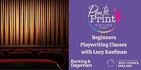 Pen to Print: Beginners Playwriting Classes tickets