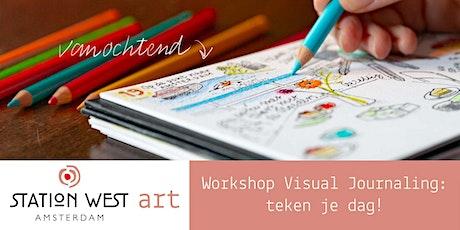 Visual Journaling: teken je dag! (3 sessies) tickets