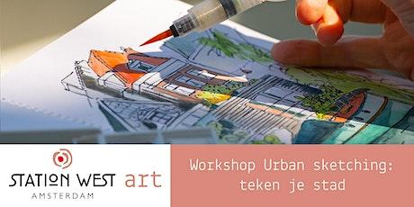 Workshop Urban sketching: teken je stad (4 sessies) tickets