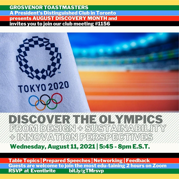 gTM Online Club Meeting #1156 - Theme: Tokyo 2020 image