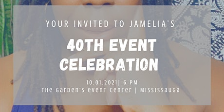 Jamelia's 40th Event Celebration tickets