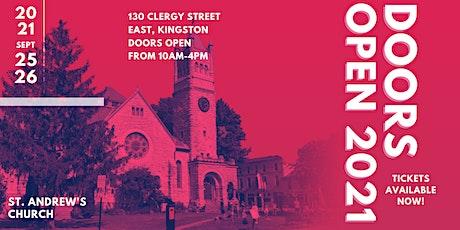 Doors Open Kingston 2021 - St. Andrew's Presbyterian Church tickets