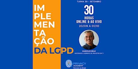 Implementação Prática da LGPD ingressos