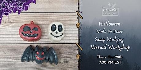 Halloween Melt & Pour Soap Making Virtual Workshop tickets