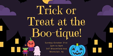Trick or Treat at the 'Boo'tique tickets