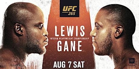StREAMS@>! r.E.d.d.i.t-Gane v Lewis UFC 265 LIVE ON 7 Aug 2021 tickets
