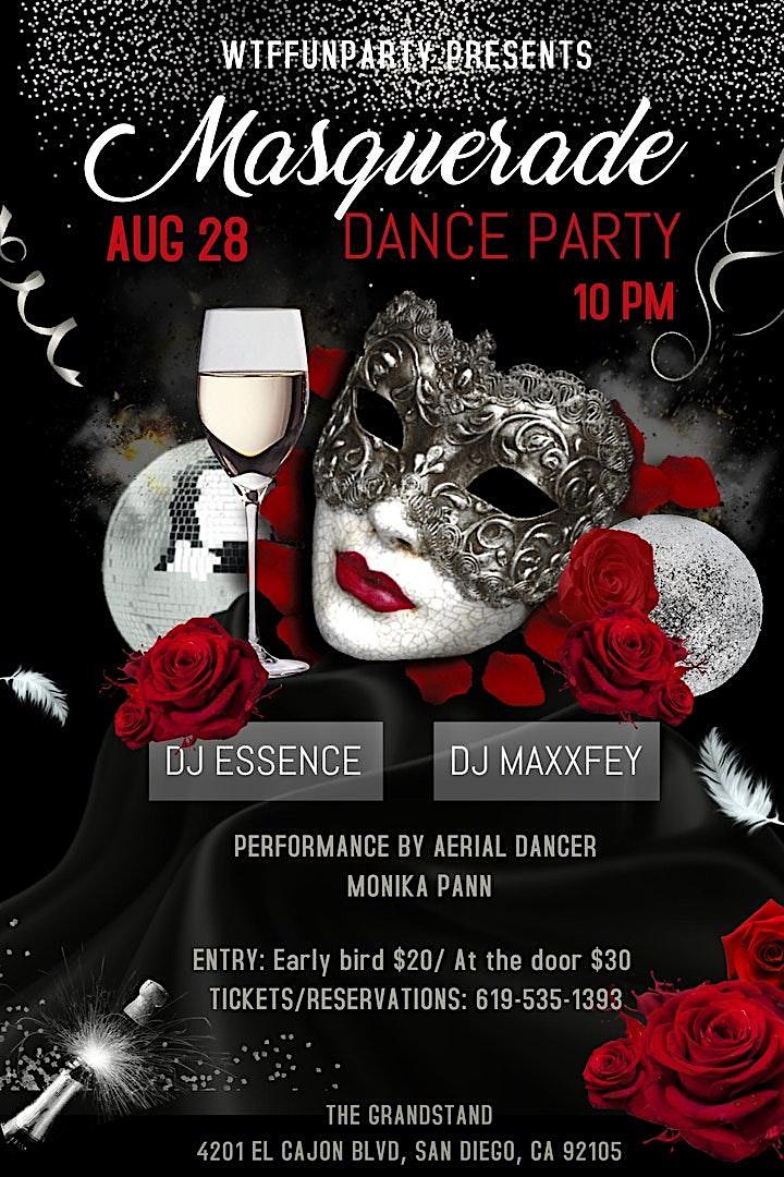 MASQUERADE DANCE PARTY image