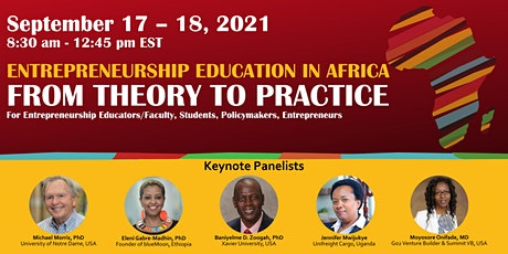 Symposium on Entrepreneurship Education in Africa: From Theory to Practice tickets