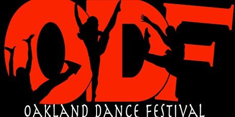 15th Annual Oakland Dance Festival - Saturday, November 20th tickets