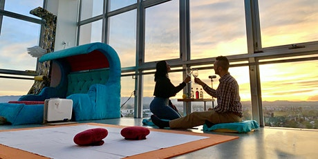 Penthouse AR/VR Gallery with Wine Tasting tickets
