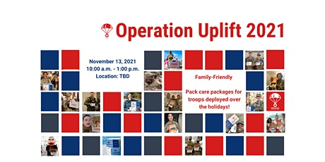 Operation Uplift 2021 - Make Care Packs for Deployed Troops tickets