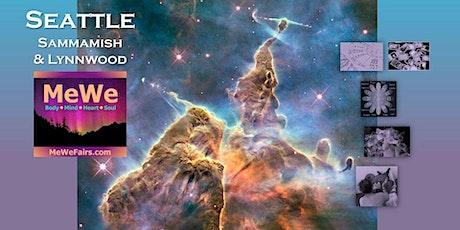 MeWe Metaphysics & Wellness Fair in Lynnwood, 60+ Booths / 30+ Talks ($5) tickets