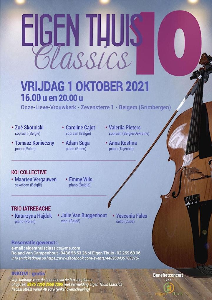 Afbeelding van Eigen Thuis Classics 10 (16 uur GEANNULEERD) Opvoering van 20 uur blijft!