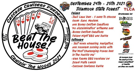 CRUISIN' THE WOODS 2021 - Beat the House tickets