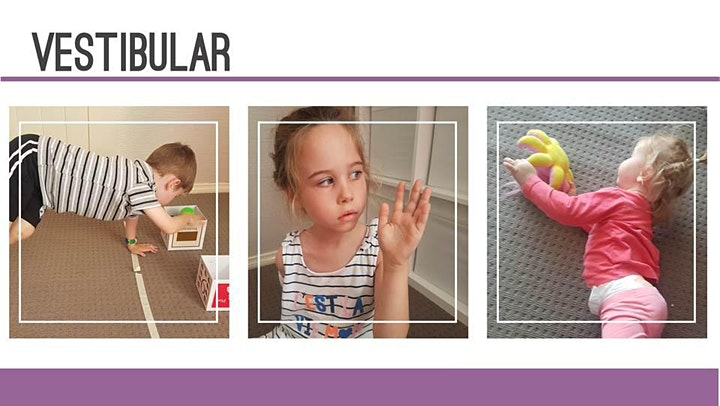 Sensory play for children who have difficulty with image