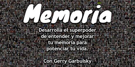 Memoria - Primera edición - Participantes de otros países (no Argentina) entradas