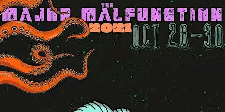 Major Malfunktion Halloween Party tickets