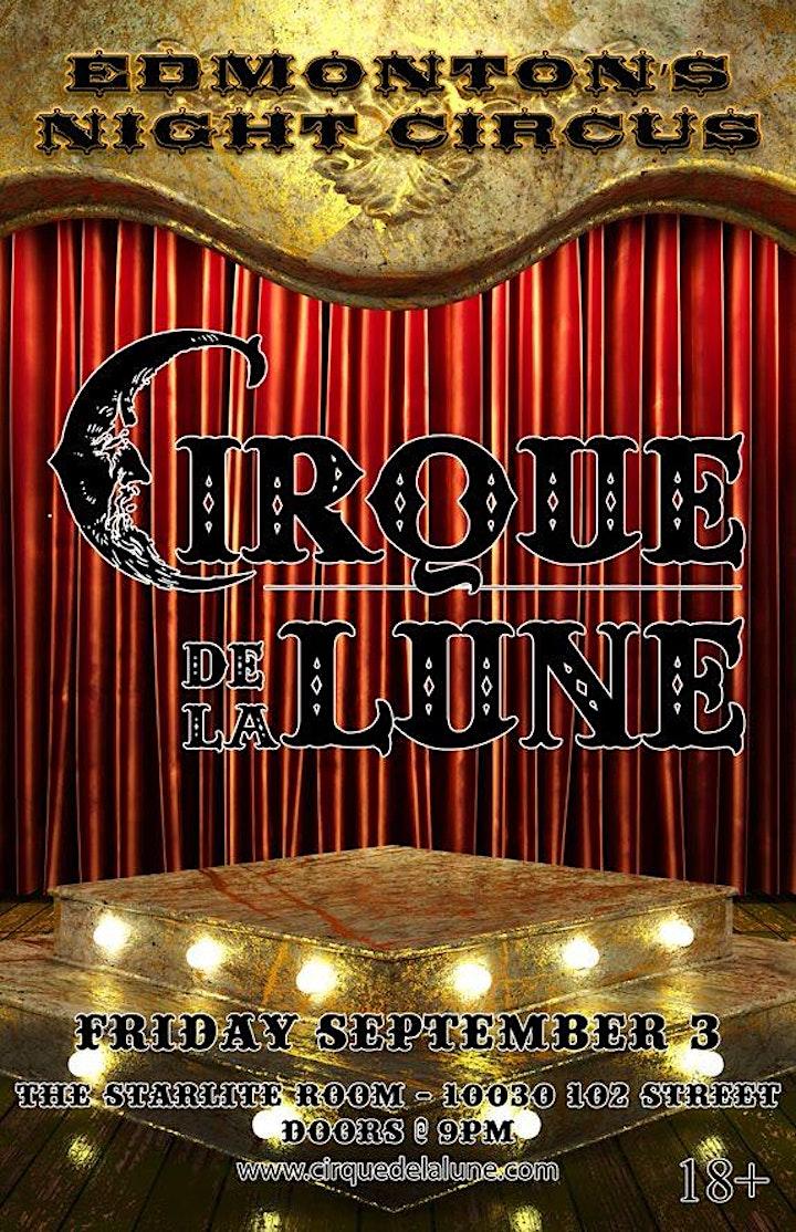 CIRQUE DE LA LUNE - Edmonton's Night Circus image