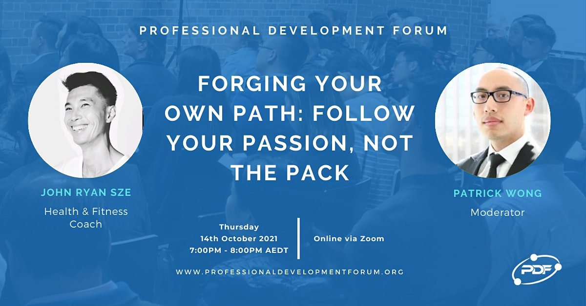 Forging Your Own Path: Follow Your Passion, Not The Pack