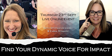 Find Your Dynamic Voice For Impact! tickets