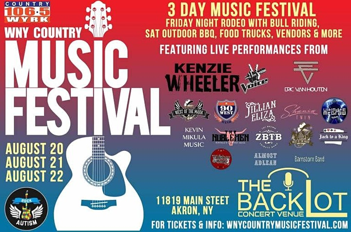WNY Country Music Festival image