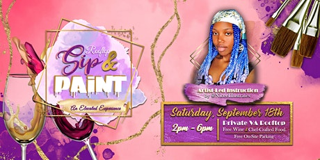 Rooftop Sip&Paint: An Elevated Experience tickets