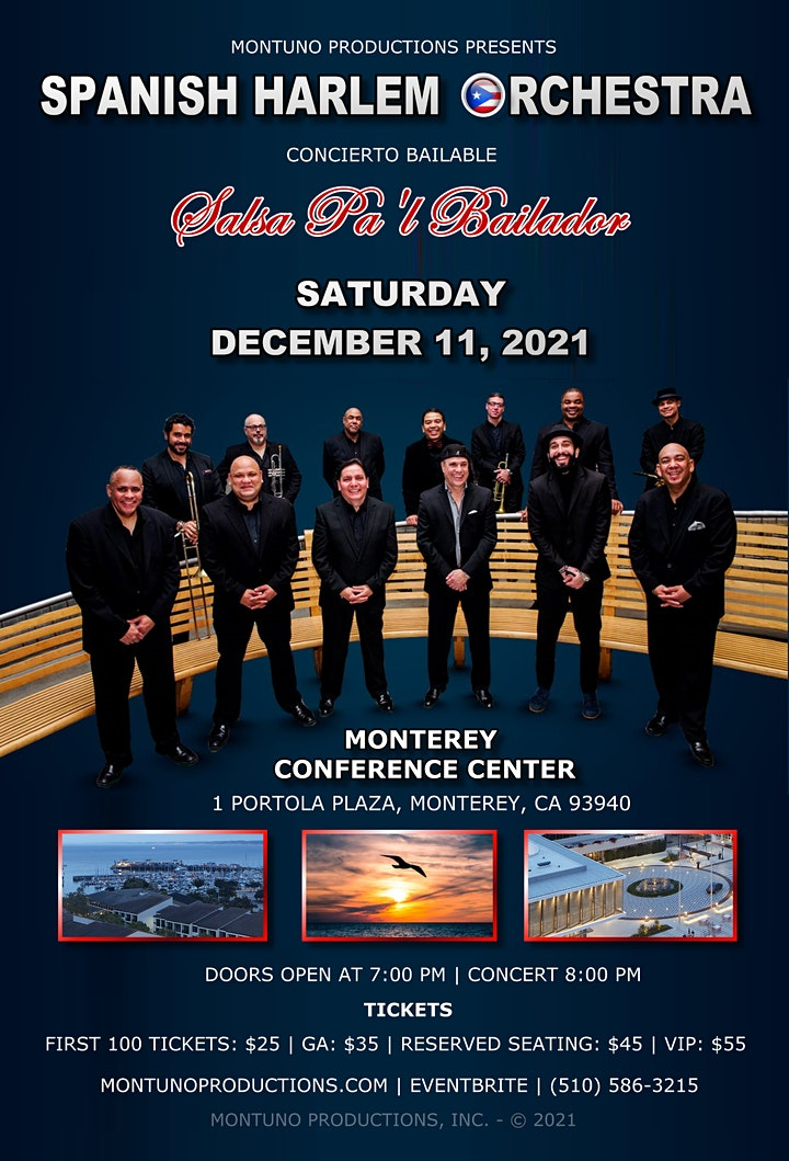 Spanish Harlem Orchestra Concert at The Monterey Conference Center image