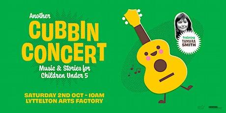 Cubbin Concert at Lyttelton Arts Factory tickets