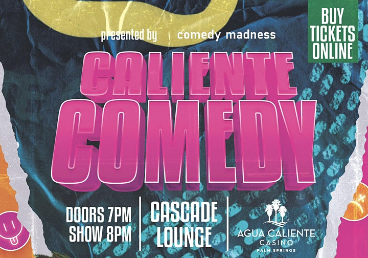 Craig Conant Headlines Agua Caliente Casino Caliente Comedy Nights image