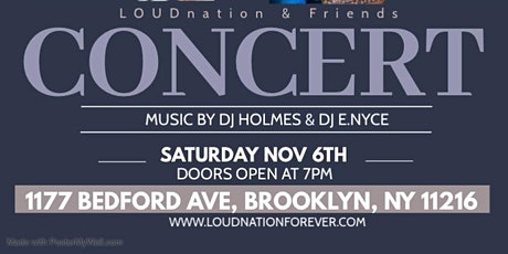 LOUDnation & Friends Concert tickets