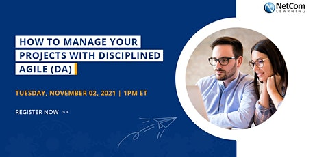 Webinar - How to Manage your Projects with Disciplined Agile (DA) tickets
