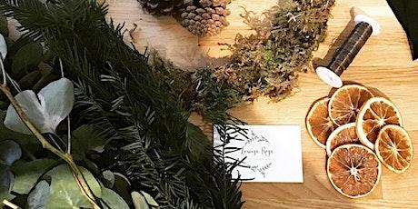 Online Wreath Making Workshop tickets