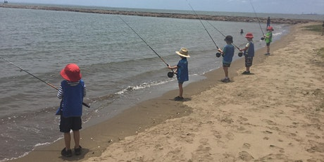 Kids & families fishing lesson - Shorncliffe tickets